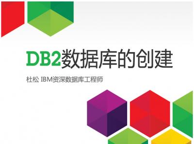 DB2数据库的创建